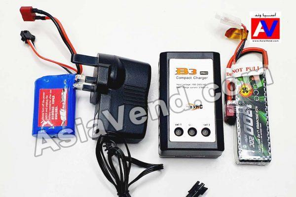 باتری و شارژر لیتیومی ماشین کنترلی آفرود L959 سری جدید و تجهیز شده 600x400 ماشین کنترلی Wltoys L959