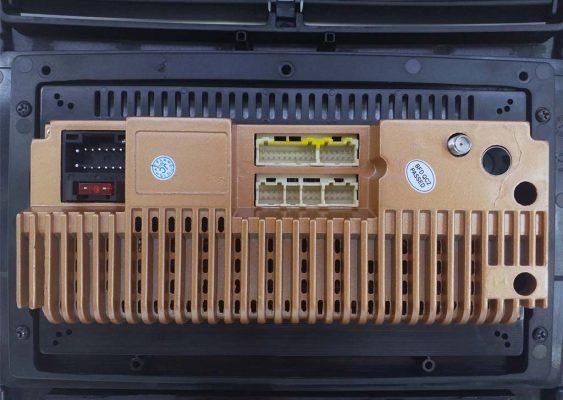 جزئیات پشت دستگاه مولتی مدیا اندروید پژو داشبورد جدید 563x400 مانیتور اندروید پژو | خرید مانیتور اندروید خودرو