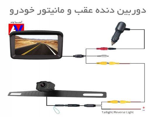 خرید، قیمت و مشخصات دوربین دنده عقب و مانیتور خودرو آسیاوند  533x400 دوربین دنده عقب و مانیتور خودرو XROOSE
