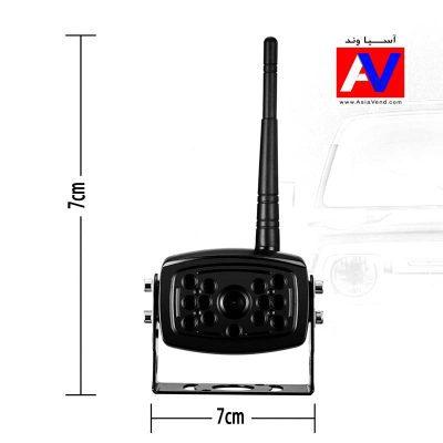 خرید آپشن خودرو دوربین بی سیم ماشین فروشگاه آسیاوند