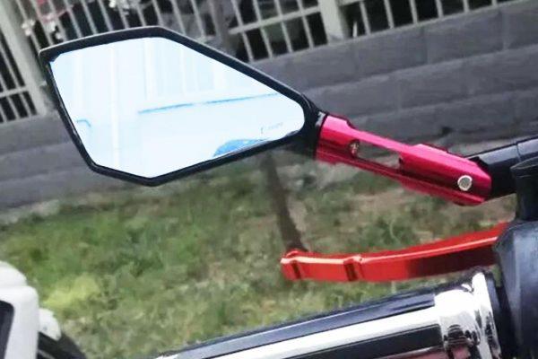 خرید آینه حرفه ای کی تی ام دوک 600x400 آینه قهرمانی موتور کی تی ام