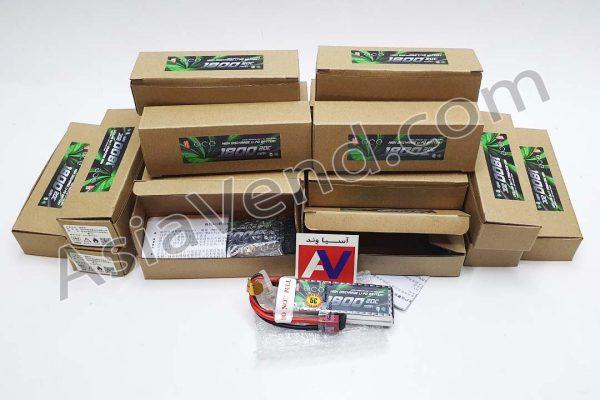 خرید باتری لیتیوم دو سل 1800 میلی آمپر ماشین اسباب بازی کنترلی و انواع مدل های آرسی 600x400 باتری ماشین کنترلی Gens ace 1800mAh 2S