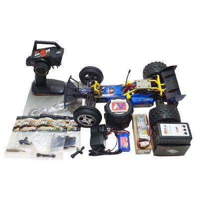 خرید ماشین کنترلی دبلیو ال تویز L959 RC Car آبی رنگ همراه با لوازم و قطعات