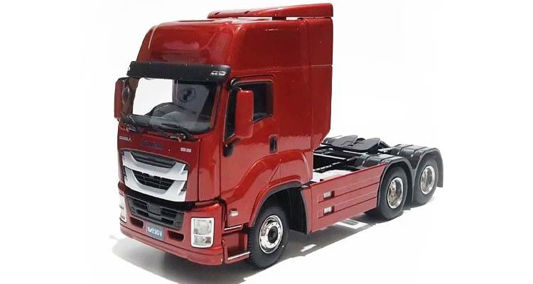 خرید ماکت کامیون ایسوزو قرمز VC61 آسیاوند