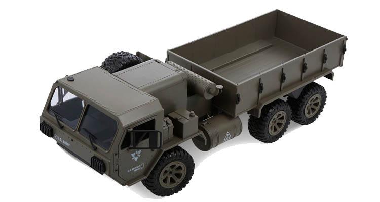 خرید کامیون نظامی کنترلی رنگ سبز