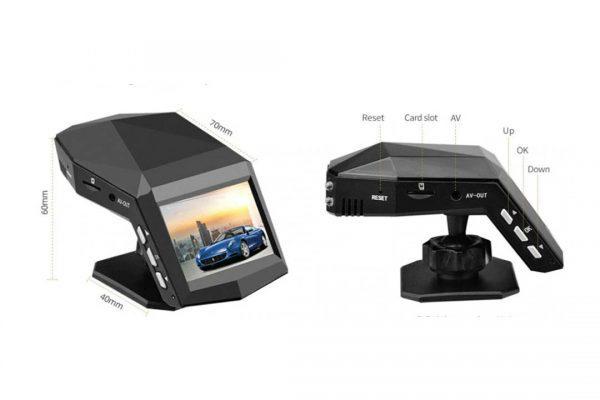 دوربین دش کمرا جلو ماشین 600x400 دش کم کد101