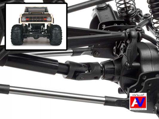 سیتم انتقال قدرت در ماشین کنترلی حرفه ای آفرود و صخره نورد Crawler King RC Car 533x400 ماشین آرسی HPI Crawler King