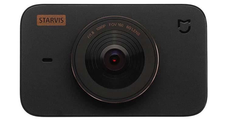 نمای جلو دوربین داشبوردی دشکم خودرو برند شیائومی مدل MIJIA 1S رنگ سیاه