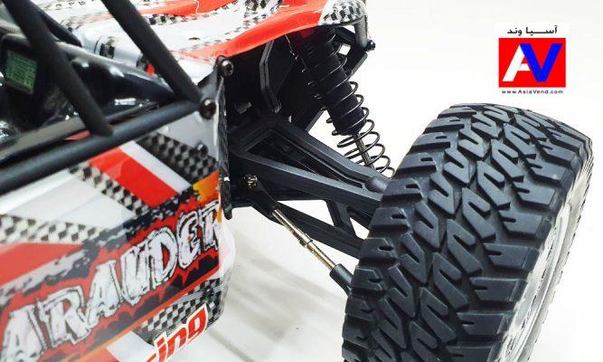 لاستیک، چرخ و سیستم فنر بندی حرفه ای ماشین کنترلی آفرود FS Racing 667x400 ماشین کنترلی آفرود الکتریکی