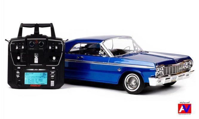 ماشین آرسی و رادیو 6 کانال ردکت ریسینگ شورلت ایمپالا شارژی 667x400 ماشین کنترلی Chevrolet Impala Lowrider