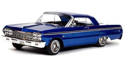 ماشین کنترلی آرسی لورایدر آمریکایی Chevrolet Impala 1964 BLUE