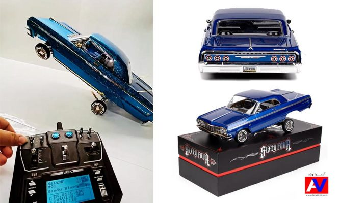 ماشین کنترلی آمریکایی Impala 667x400 ماشین کنترلی Chevrolet Impala Lowrider