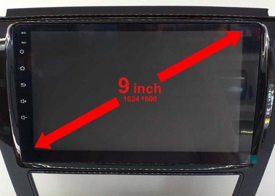 مانیتور اندروید جک اس 5 با صفحه نمایشگر 9 اینچ و وضوح تصویر مطلوب 563x400 مانیتور جک اس 5