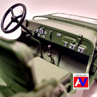 ماکت ماشین Tactical Jeep Diecast Car