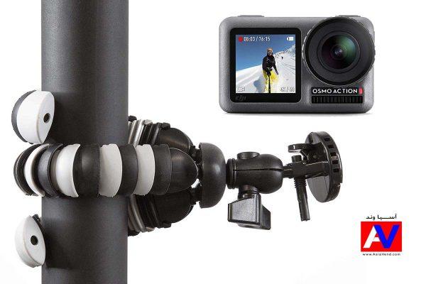 مجموعه دوربین DJI OSMO ACTION و لوازم جانبی کاربردی 600x400 دوربین اسمو اکشن و لوازم کاربردی