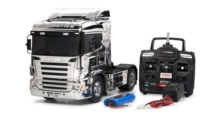 اسباب بازی کامیون کنترلی اسکانیا R470 اسباب بازی
