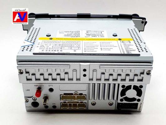 نمای پشت دستگاه مانیتور اندروید وینکا خودرو سورنتو و اتصالات 533x400 مانیتور اندروید Kia Sorento XM