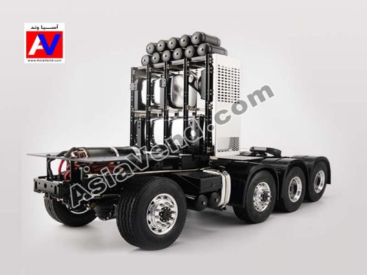 کامیون کشنده کنترلی الکتریکی لسو 533x400 ماشین راهسازی کنترلی لسو | بیل مکانیکی و کامیون شارژی
