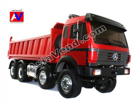 کامیون کمپرسی بنز کنترلی لسو 533x400 ماشین راهسازی کنترلی لسو | بیل مکانیکی و کامیون شارژی