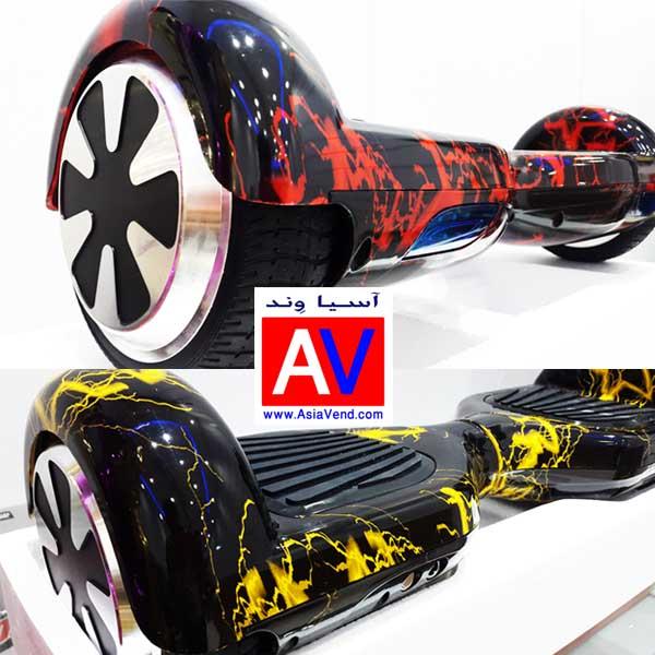 Asia Scooter wheel IRAN اسمارت هاور برد / اسکوتر هوشمند برقی P5S