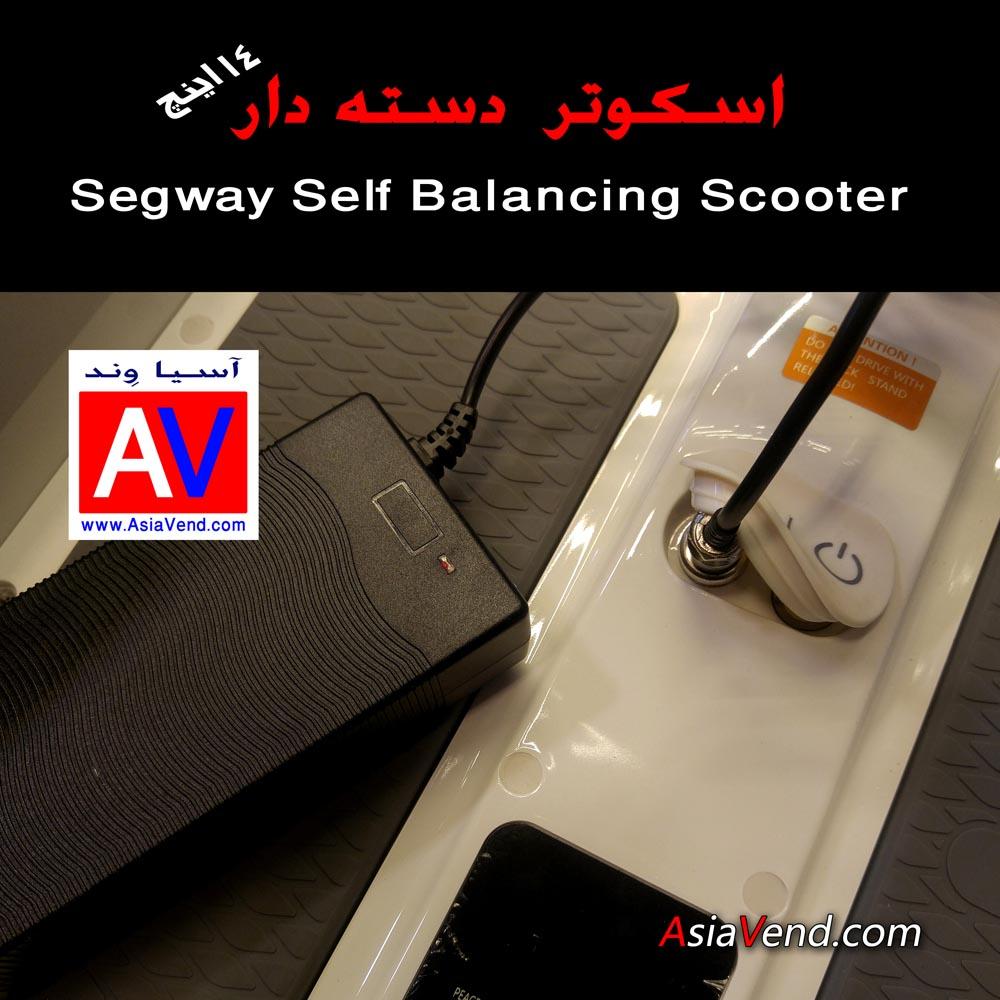 شارژر اسکوتر برقی دسته دار اسکوتر برقی هوشمند دسته دار D14 Segway