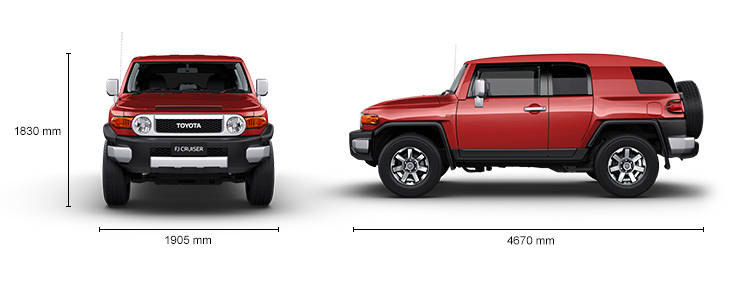 مشخصات تویوتا اف جی کروزر ماکت تویوتا Toyota FJ Model Car
