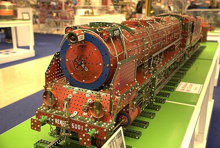 440px Meccano locomotive ماکت ماشین فلزی فورد مقیاس 1/32 رنگ قرمز Ford GT Model Car