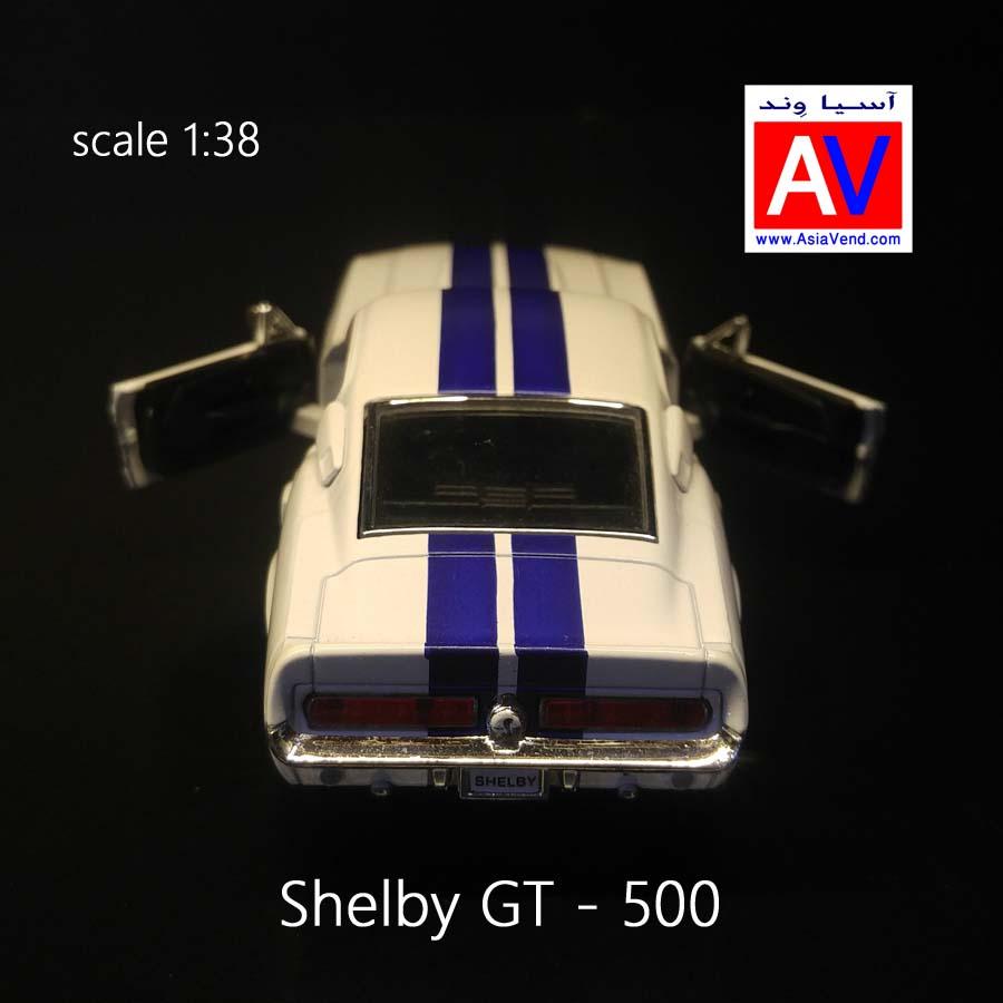 shelby gt 500 ماکت ماشین آمریکایی SHELBYGT 1967