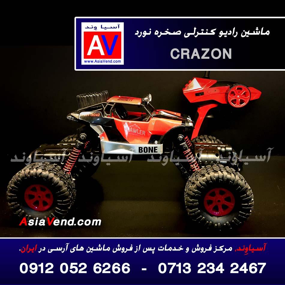 4WD RC Crawler خرید ماشین رادیوکنترلی صخره نورد  Crazon Crawler RC Car Toy