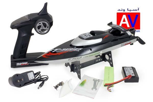 خرید قایق اسباب بازی سرعتی قایق آرسی حرفه ای 600x400 قایق کنترلی پر سرعت / موتور براشلس مدل  FT012