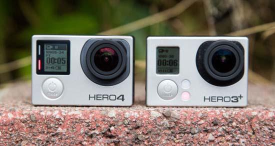 مقایسه دوربین Hero4 blavk و Hero 3 دوربین ورزشی GoPro Hero4 Black