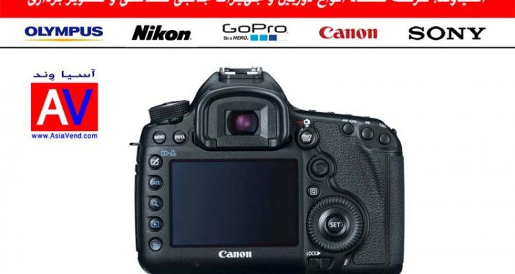 خرید دوربین دوربین کانن Canon EOS 5D Mark III - نمای پشت دوربین