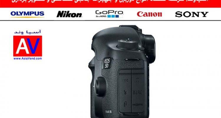 EOS 5D Mark III سمت چپ دوربین