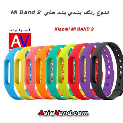 بند های رنگی مچ Mi Band 2 بند هوشمند 400x400 مچ بند هوشمند شیائومی Xiaomi Mi Band 2 Wristband