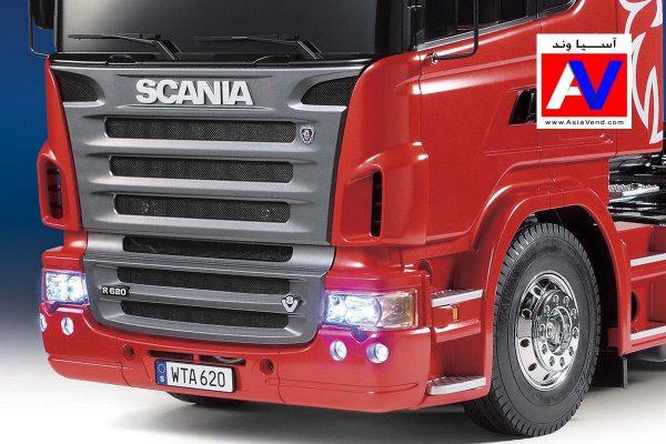 کامیون کنترلی اسکانیا اسباب بازی 600x400 ماشین کنترلی اسکانیا R620 مقیاس 1/14