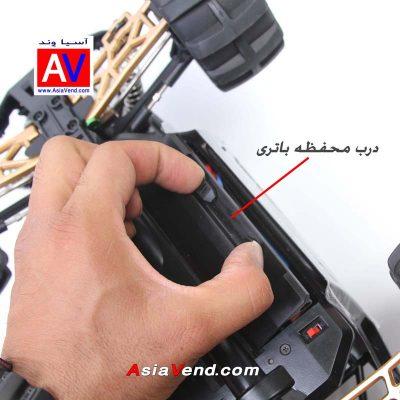 ماشین کنترلی آفرود مدل 12409 5 400x400 ماشین کنترلی آفرود / ماشین آرسی مدل 12409 سری 2018
