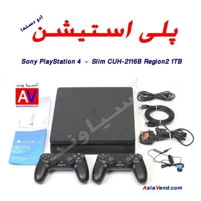 خرید پلی استیشن PS4 Slim 2116B 11 400x400 خرید کنسول بازی پلی استیشن PS4 Slim 2116B