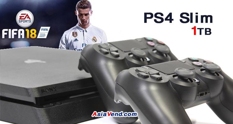 مجموعه پلی استیشن 4 مجموعه پلی استیشن 4 با یک دسته اضافه و بازی فوتبال FIFA 2018
