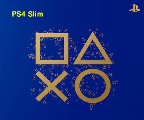 پلی استیشن 4 اسلیم ریجن دو با رنگ آبی سفارشی تولید محدود PS4 پلی استیشن 4 اسلیم رنگ آبی