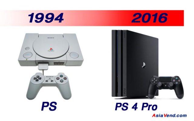 کنسول بازی پلی استیشن PS One PS4 1 640x400 پلی استیشن | PlayStation