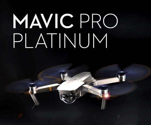 کوادکوپتر مویک پرو پلاتینیوم 4 480x400 خرید کوادکوپتر مویک پرو پلاتینیوم DJI Mavic Pro Platinum | مشخصات فنی