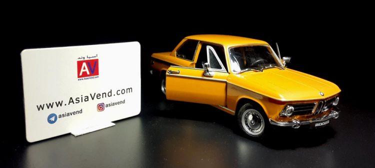 ماکت ماشین 750x336 خرید ماکت ماشین آلمانی BMW 2002 ti
