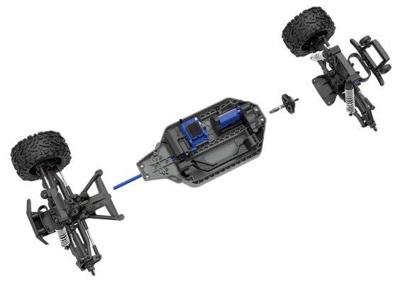 شاسی ماشین کنترلی آرسی ترکسس راستلر Rustler VXL 4WD  571x400 ماشین کنترلی Traxxas Rustler  | خرید ماشین آرسی آفرود