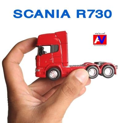 Scania Diecasting car R730 small Scale model