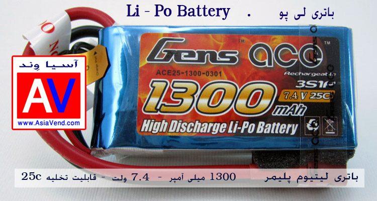 باتری لیتیوم پلیمر دو سل