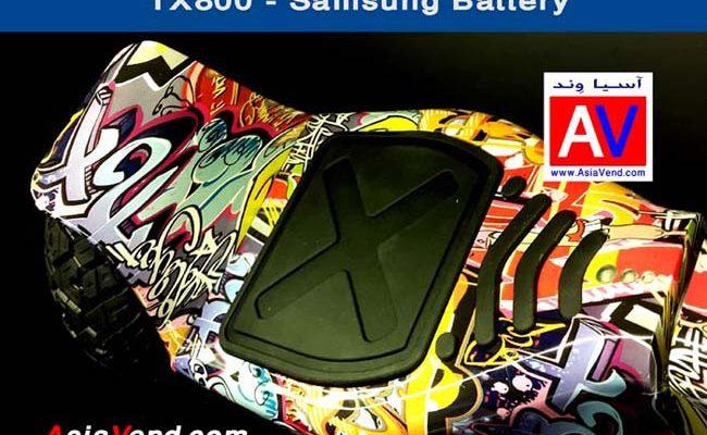 خرید اسکوتر برقی هوشمند اسمارت مدل TX800 8inch Smart Balance Wheel Scooter 10 650x400 اسکوتر برقی جدید هوشمند و آفرود TX800 Smart Scooter