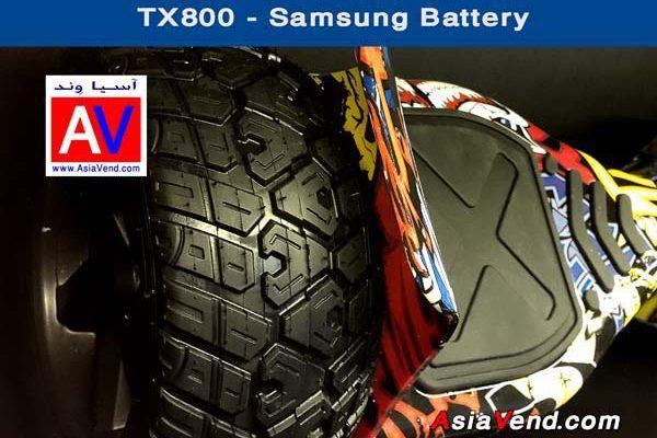 خرید اسکوتر برقی هوشمند اسمارت مدل TX800 8inch Smart Balance Wheel Scooter 6 600x400 اسکوتر برقی جدید هوشمند و آفرود TX800 Smart Scooter