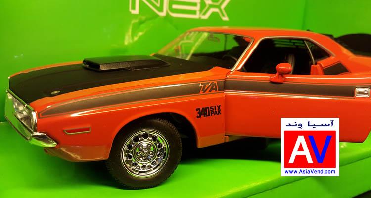 خرید ماکت فلزی ماشین دوج چلنجر 1970