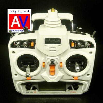 درباره رادیو کنترل پهپاد و هواپیمای DEVO 10 400x400 خرید رادیو کنترل ده کانال Walkera Devo 10ch Transmitter