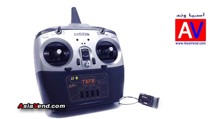 رادیو کنترل هشت کانال Radio Control T8FB